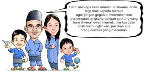 internet sehat, keluarga-sakinah internet sehat