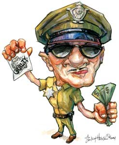 Tips Trik Saat Ditilang Polisi agar Lolos Tilang